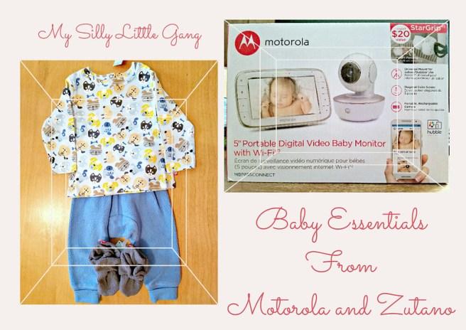 Baby Essentials from Motorola & Zutano