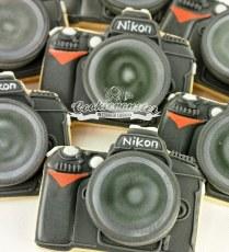 NIKON D90 camera cookie