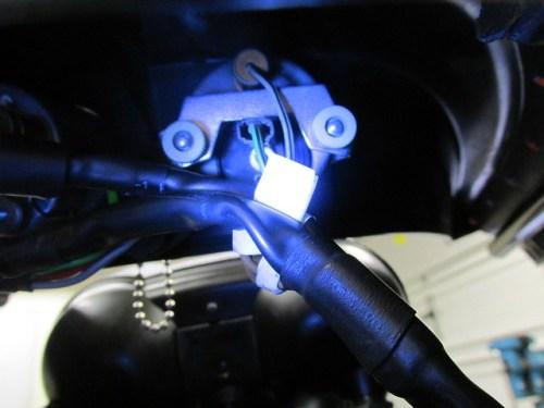 Volt Meter Wiring Installed