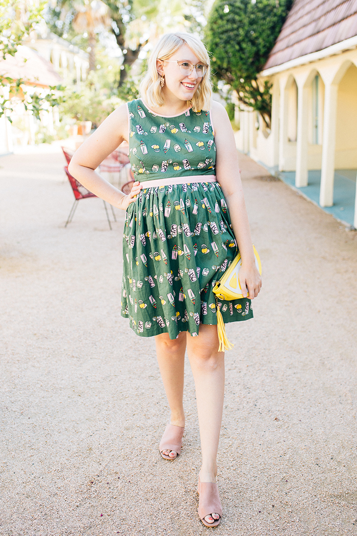 writes like a girl austin style blog aglow in the moment modcloth dress8