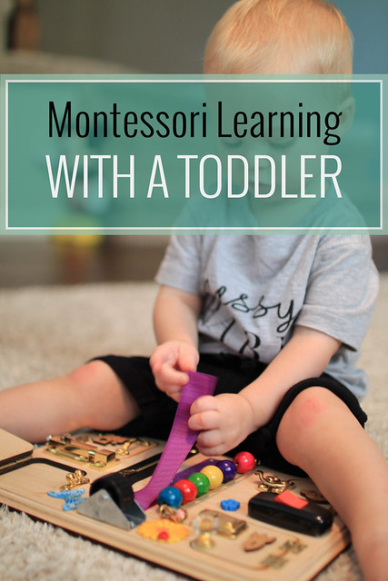 Montessori Learning with a Toddler