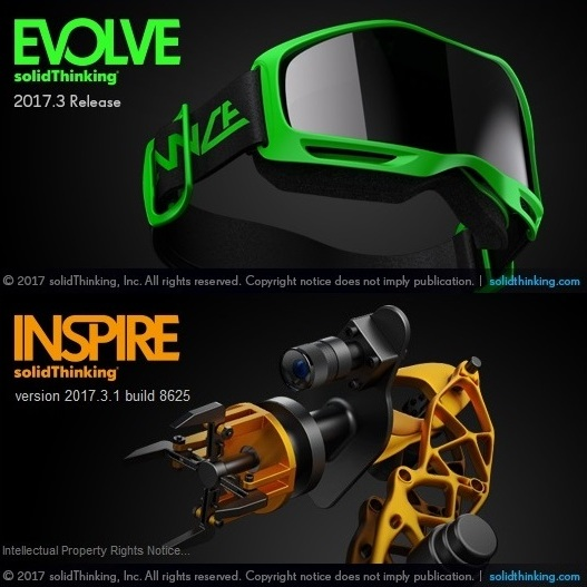 solidThinking Suite (Evolve + Inspire) 2017.3.1 win64 full license