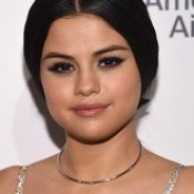 Red Carpet Makeup Look : Selena Gomez kept it conservative with this loose, low ponytail during Billboard... - #MakeUp.