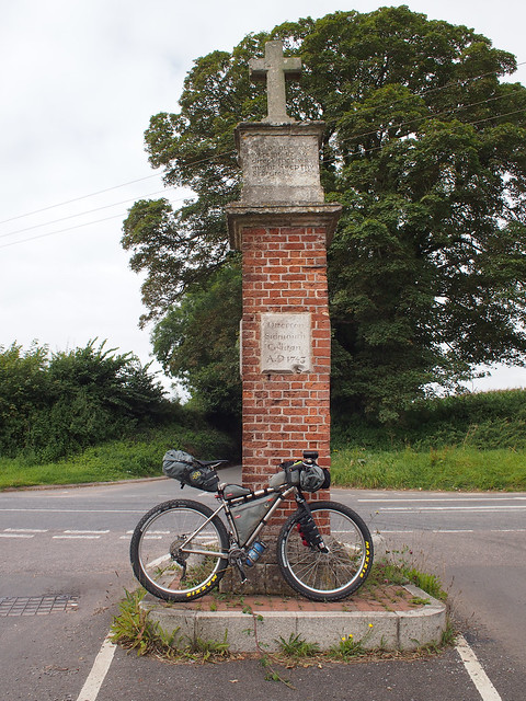 NCN2 Trip - Bicton Spiritual Direction Cross