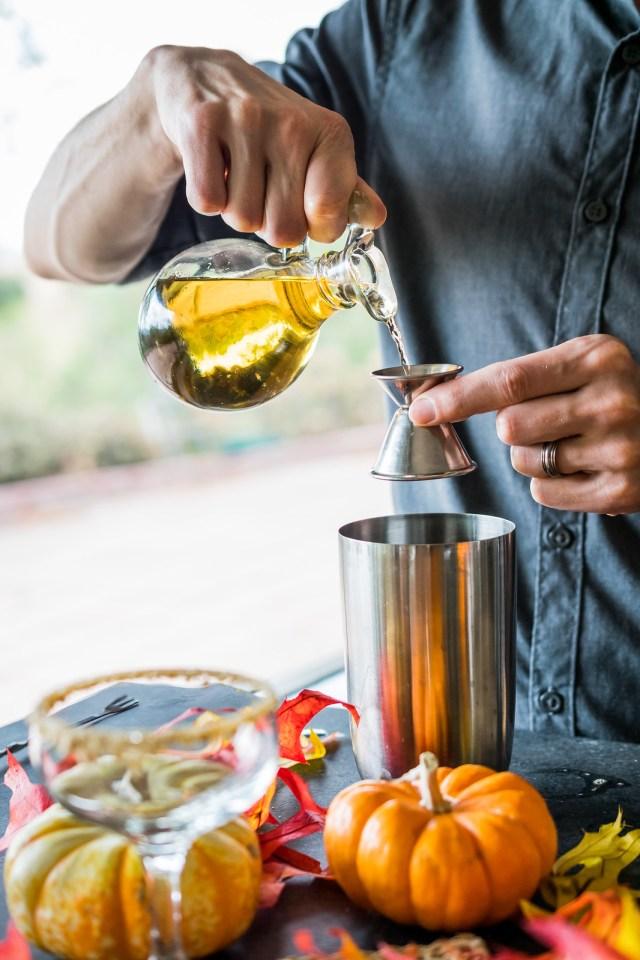 frangelico adds a toasty warm flavor