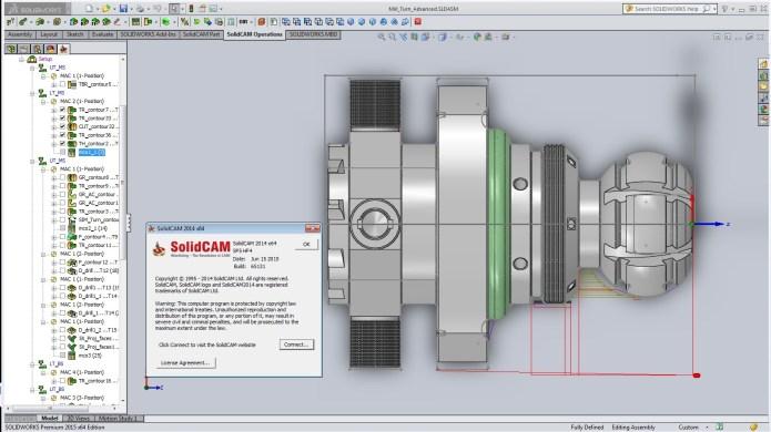 Lập trình tiện với Tải phần mềm solidcam 2014 sp5.0 full crack