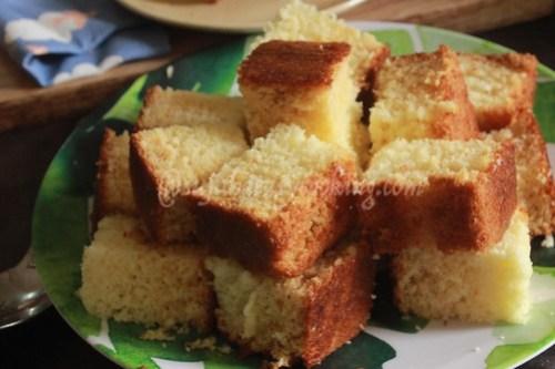 Hot milk cake4