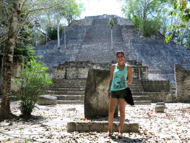Estructura en Calakmul