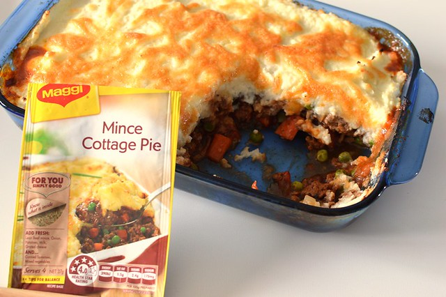 Mince cottage pie