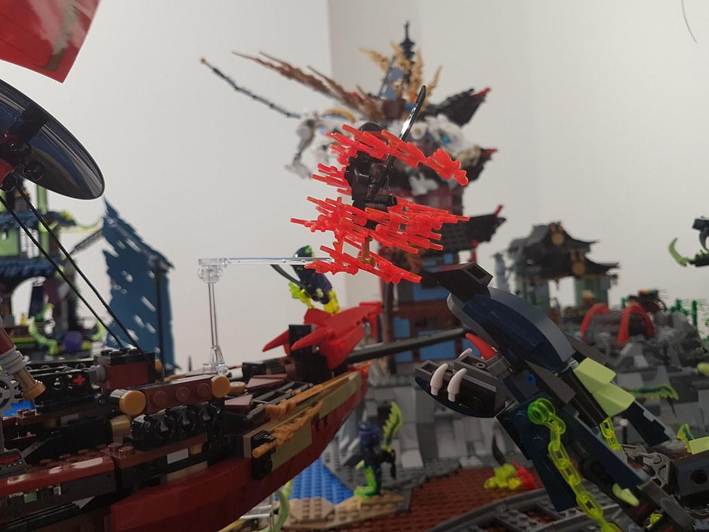 "RLUG ""Skockani"" exhibition - Ninjago diorama"