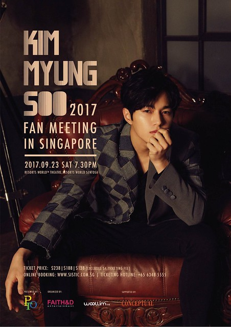 Kim Myung Soo Fan Meeting in Singapore