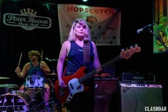 Pie Face Girls @ Hopscotch Music Festival, Raleigh NC 2017