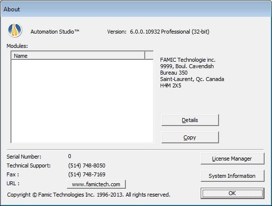 Phần mềm Automation Studio 6.0 32bit full crack