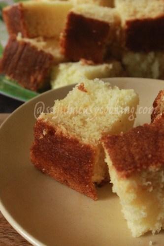 Hot milk cake 3
