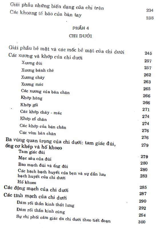 Mục lục - giải phẫu học lâm sàng - HAROLD ELLIS 4