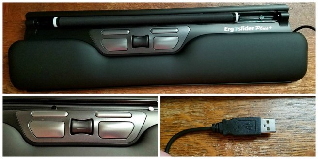Ergoslider Plus+ Ergonomic Roller-Bar Mouse