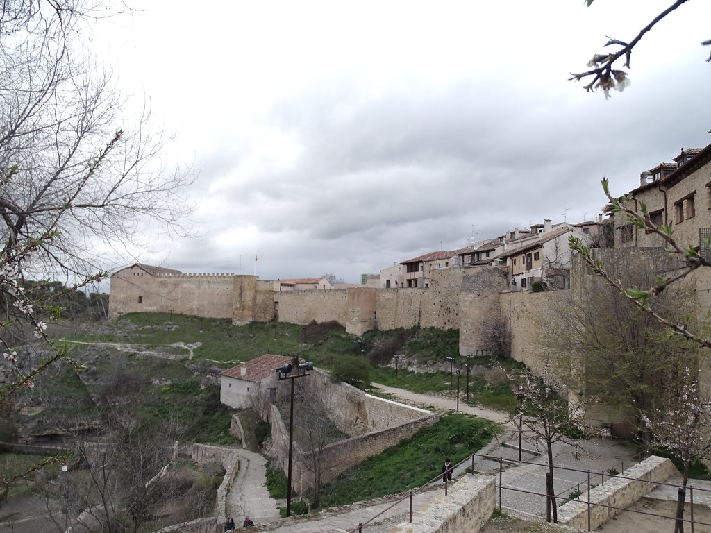 Segovia Muralla lado oriental ronda de Don Juan II 10