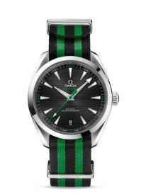 OMEGA Exhibition_First to Macau_Sport Spirit_Seamaster Aqua Terra_Green & Black