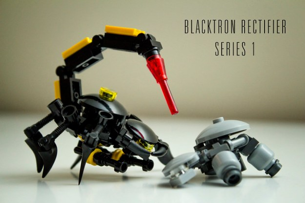 Build Your Own Blacktron Rectifier To Prevent Robot Turtle Supremacy
