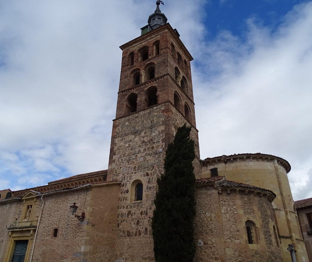 Segovia Iglesia de San Andrés 01