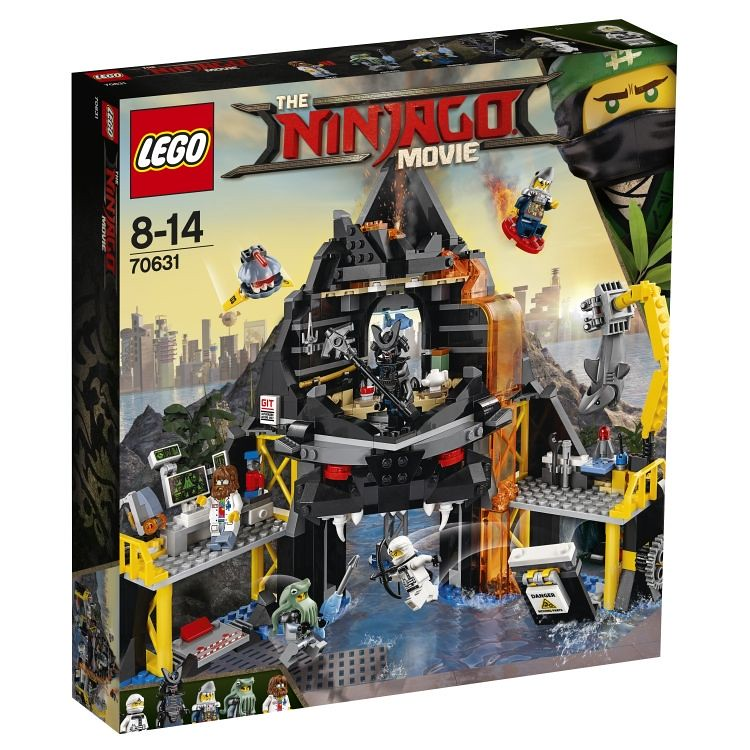 70631 - Garmadon's Volcano - box