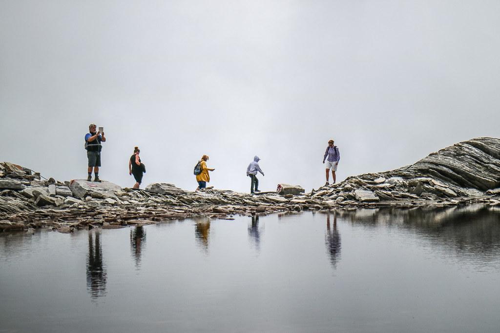Lago Smeraldo, Passo del Monte Moro