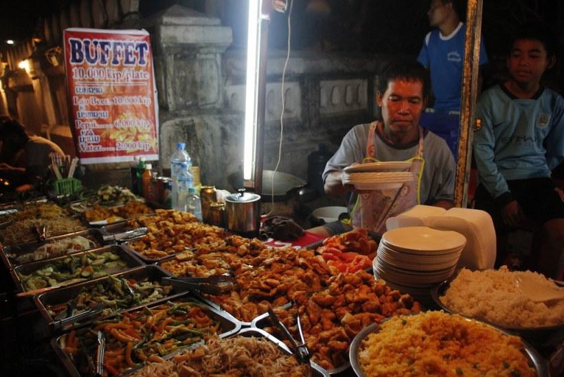 gode spisesteder i Luang Prabang, Laos