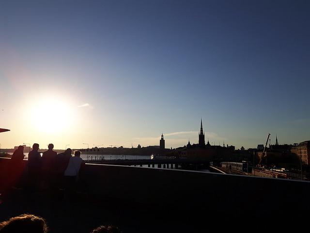 Sunset Slussen