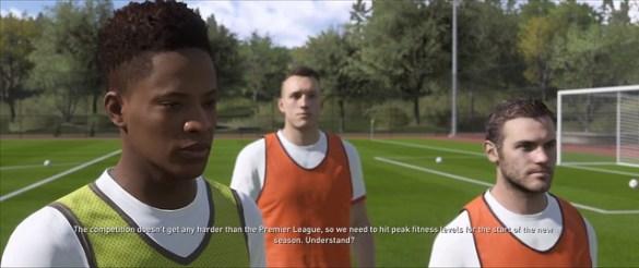 FIFA 18 The Journey - 알렉스 헌터 연습