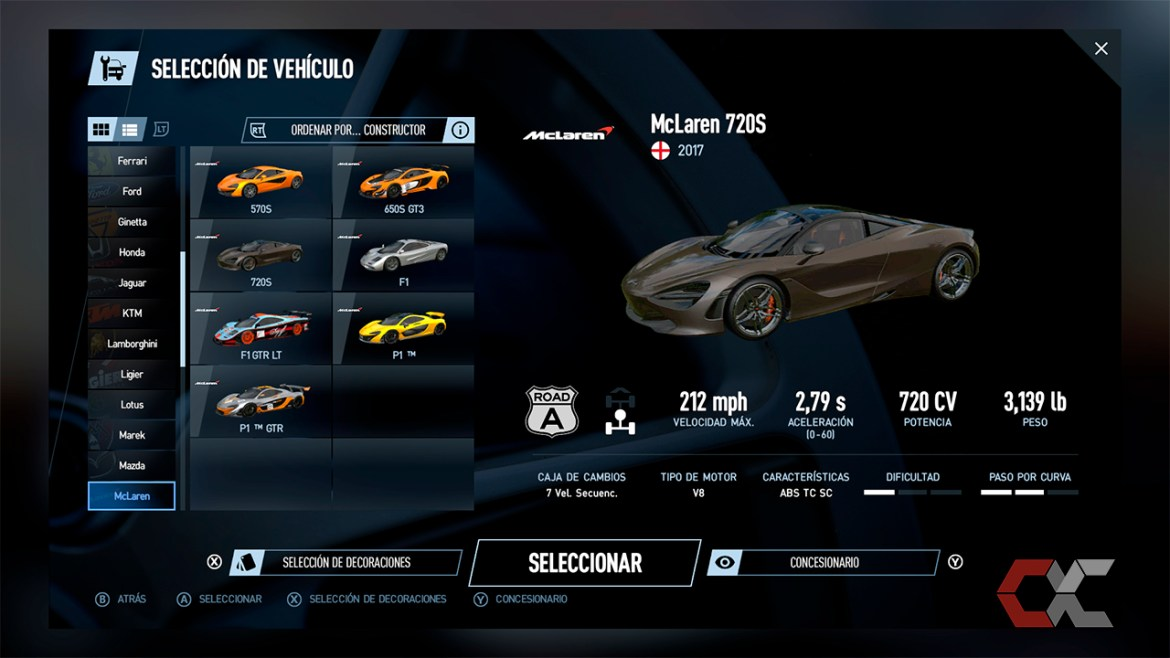Porject Cars 2 Overcluster 6