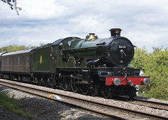 GWR 4-6-0 Castle Locomotive Earl of Mount Edgcombe