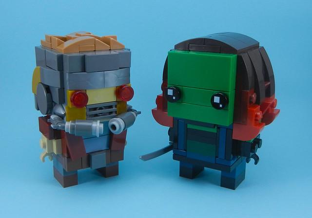 Star Lord & Gamora
