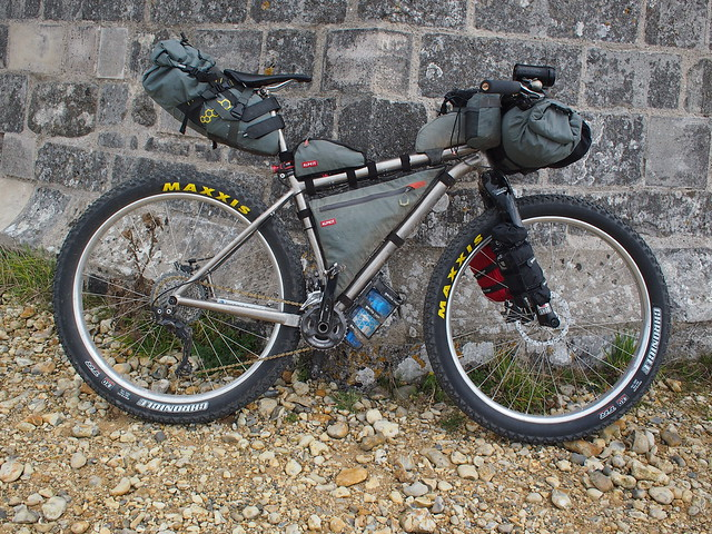 NCN2 Trip - Trusty Travers Russ Ti