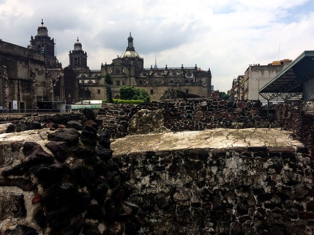 Templo Mayor Ruins and Metropolitan Cathedral
