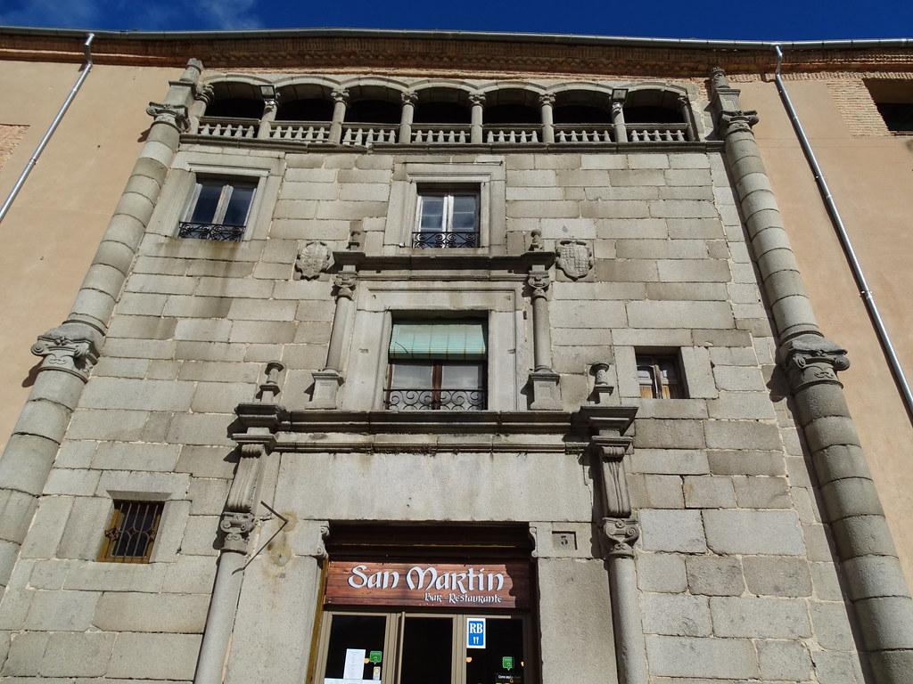 Segovia fachada Casa de los Solier casa blasonada 03