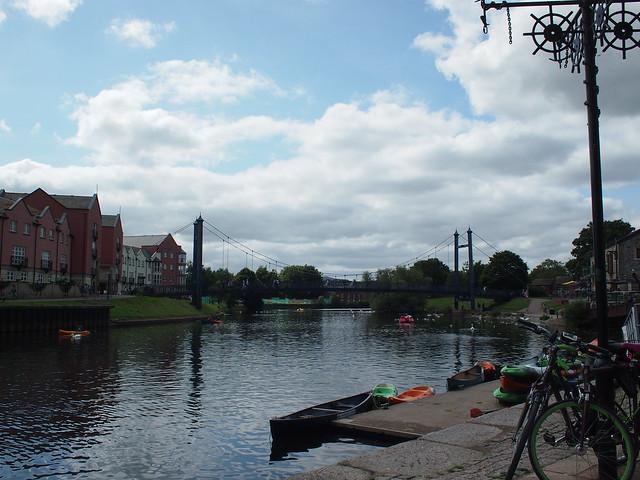 NCN2 Trip - Exeter quay