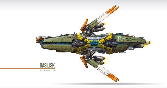 SHIPtember concept, Basilisk Battlecruiser