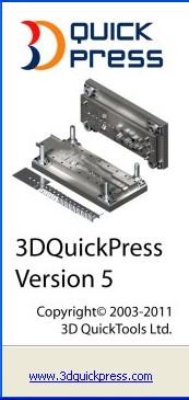 Phần mềm thiết kế khuôn 3DQuickPress 5.4.1