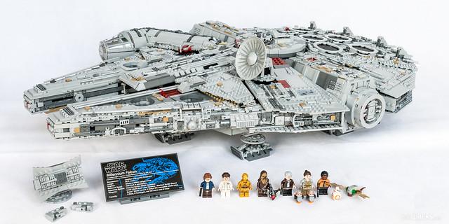 REVIEW LEGO Star Wars 75192 UCS Millennium Falcon