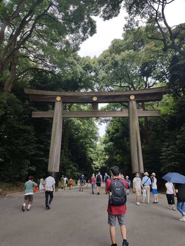 Grand Tori, Meiji Jingu