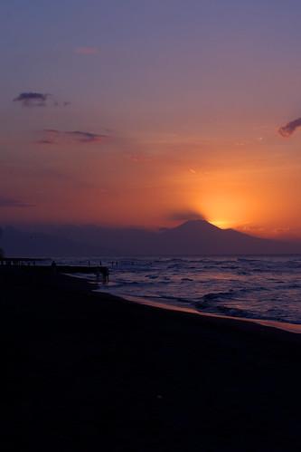 Singaraja sunset