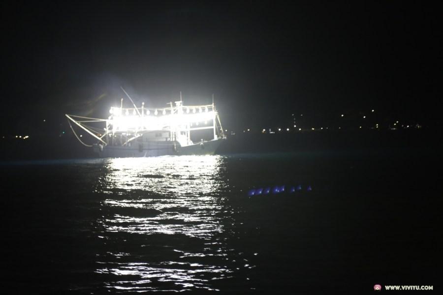 [新北市.旅遊]瑞芳深澳夜釣體驗~搭船出海夜釣滿載而歸.欣賞沿岸酋長岩與象鼻岩等美景 @VIVIYU小世界