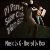 PJ party.