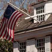 Betsy Ross House (1740), view04, 239 Arch St, Philadelphia, PA, USA.