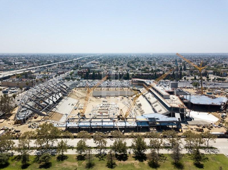Los Angeles Football Club Construction