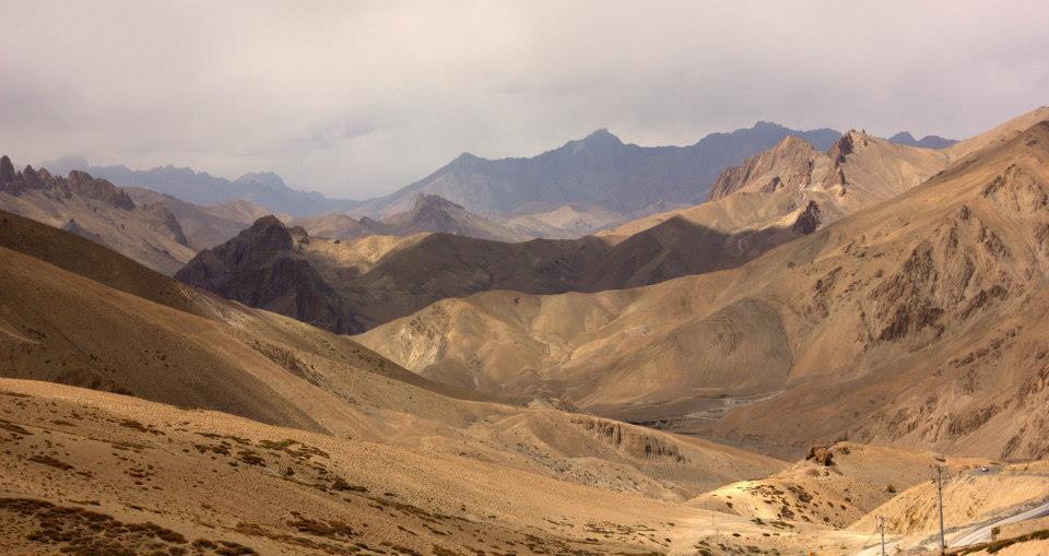 Beautiful Ladakh landscape