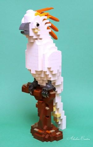 LEGO Cockatoo - Brick Separator MOC