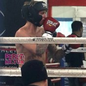 Justin Bieber Is A Knockout At The Boxing Gym!.