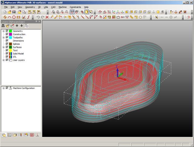 lập trình gia công 3D với alphacam 2013