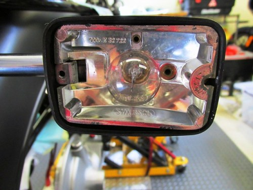 Rear Turn Signal Bulb Housing Orientation-Only Goes One Way